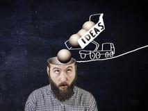 Un nouveau concept d'idée image stock