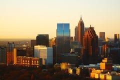 Un nouveau jour pour Atlanta image libre de droits