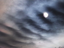 Un nuage d'escalier Photo libre de droits