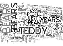 Un nuage spécial de Word de miracle de Beary illustration libre de droits