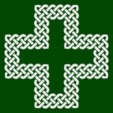 Un nudo cruzado de la forma, ejemplo del vector Foto de archivo libre de regalías