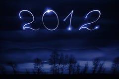 Un numero di 2012 Immagine Stock Libera da Diritti
