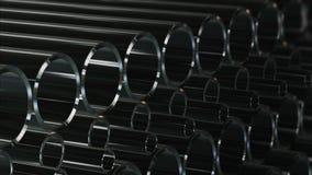 Un numero infinito di tubi illustrazione di stock