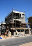 Un nuovo in costruzione domestico Fotografia Stock