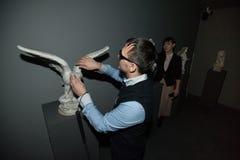 Un nuovo museo tattile Fotografia Stock Libera da Diritti