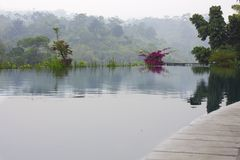 Un'oasi indonesiana dell'acqua Immagine Stock