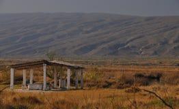 Un oasis en el desierto Imágenes de archivo libres de regalías