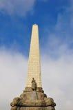 Un obelisco de la colina del árbol Fotos de archivo libres de regalías