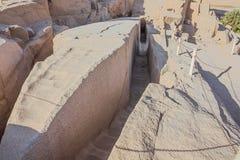 Un obelisco inacabado foto de archivo libre de regalías