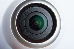un obiettivo da 360 gradi Fotografie Stock