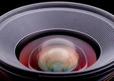 Un obiettivo di macchina fotografica Immagine Stock