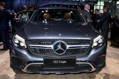 Un objet exposé de coupé de CGL de Mercedes à l'International 2016 de New York Images libres de droits