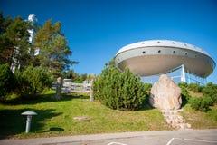 Un observatorio del cielo y un museo del ethnocosmology imágenes de archivo libres de regalías