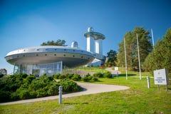 Un observatorio del cielo y un museo del ethnocosmology fotos de archivo