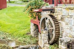 Un'occhiata dello stile di vita tradizionale nel villaggio di Amish, Pensilvania fotografia stock
