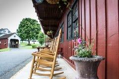 Un'occhiata dello stile di vita tradizionale nel villaggio di Amish, Pensilvania immagini stock