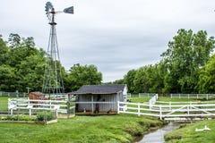 Un'occhiata dello stile di vita tradizionale nel villaggio di Amish, Pensilvania immagini stock libere da diritti