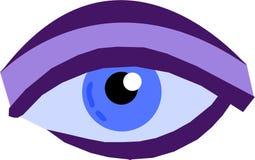 Un occhio Fotografie Stock Libere da Diritti