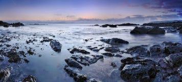Un oceano calmo Fotografia Stock Libera da Diritti