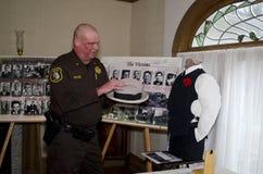 exhibición de la masacre del día de tarjetas del día de San Valentín del st imagenes de archivo