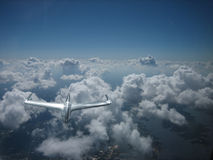 Un oggetto volante non identificato immagine stock libera da diritti
