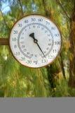 Un oggi poco caldo in Death Valley Fotografia Stock