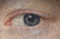 Un ojo Foto de archivo