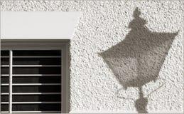 un'ombra di 5 in punto Fotografia Stock Libera da Diritti