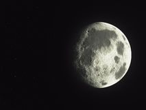 Un'ombra laterale dell'asteroide vuota Fotografie Stock Libere da Diritti