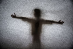 Un'ombra scura Fotografie Stock