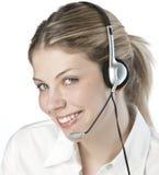 Un operato amichevole telefono/della segretaria immagini stock libere da diritti