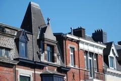 Un orizzonte a vecchia Liegi, Belgio Fotografia Stock Libera da Diritti