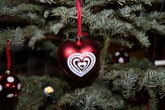 Un ornamento de la Navidad foto de archivo libre de regalías