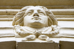 Ornamento de piedra Foto de archivo libre de regalías