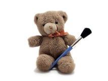 Un orso è un artista Fotografia Stock