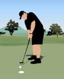 Golfista Imágenes de archivo libres de regalías