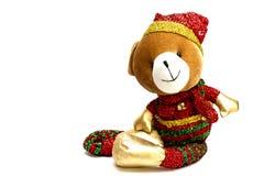 Un ours de Noël Photographie stock libre de droits