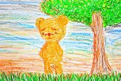 Un ours seul Images stock