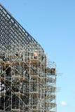 Un ouvrier de la construction Photographie stock