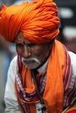 Un pèlerin plus âgé Photographie stock