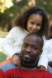 Un père et un descendant Images stock