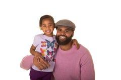 Un père et une fille Photographie stock