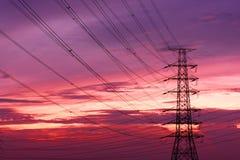 Un Pôle électrique Photographie stock