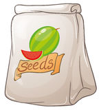Un pacchetto dei semi dell'anguria royalty illustrazione gratis