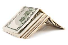 Un pacchetto di 100 dollari Fotografia Stock Libera da Diritti