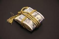 Un pacco di soldi Fotografia Stock Libera da Diritti