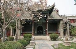 Un padiglione a Xian Great Mosque Fotografia Stock
