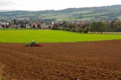 Un paesaggio agricolo Fotografia Stock Libera da Diritti