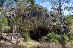 Un paesaggio australiano Immagini Stock