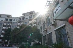 Un paesaggio dell'università di Zhejiang fotografie stock